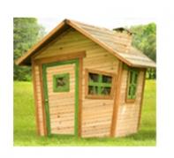 AXI: houten huisjes